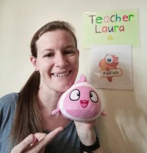 Teacher Laura on Palfish